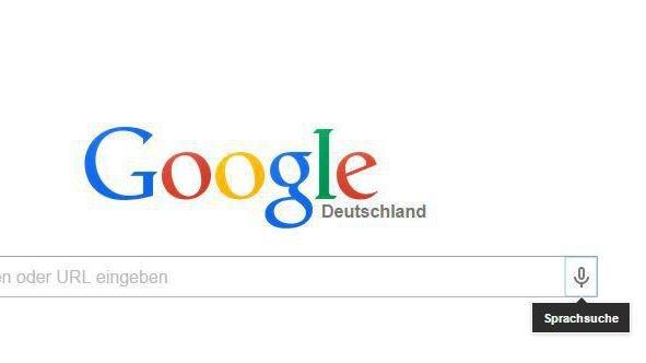 Google Sprachsuche