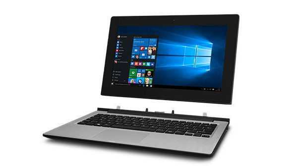 Medion Akoya E2212T: Windows-Convertible bei Aldi für 300 Euro
