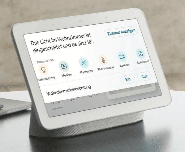 Der Home Hub kommt nun auch in Deutschland auf den Markt.