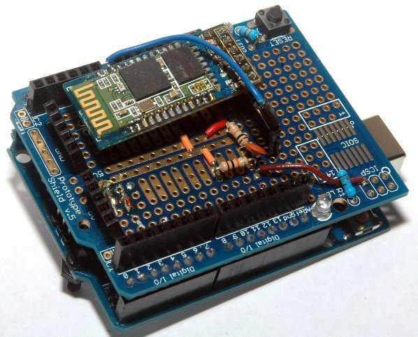 Ein HC-05-basiertes Programmiershield für Arduino R3-Varianten