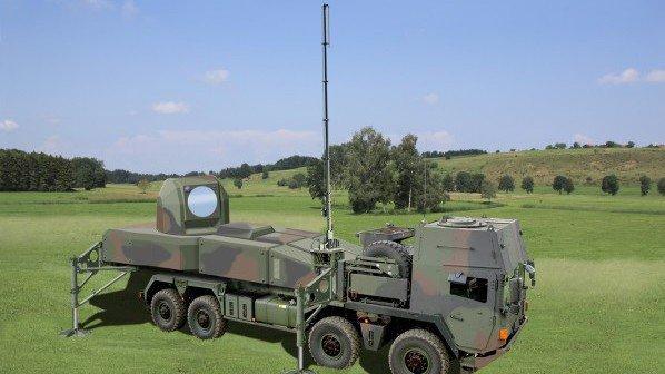 Bei Strahlenwaffen liegt Deutschland vorn