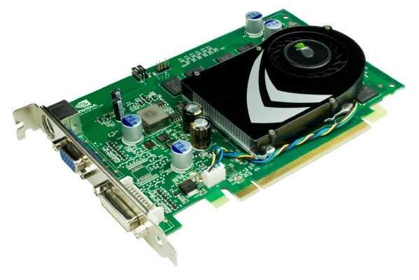 Die GeForce 9400 GT belegt nur einen Slot und lässt sich auch passiv kühlen.