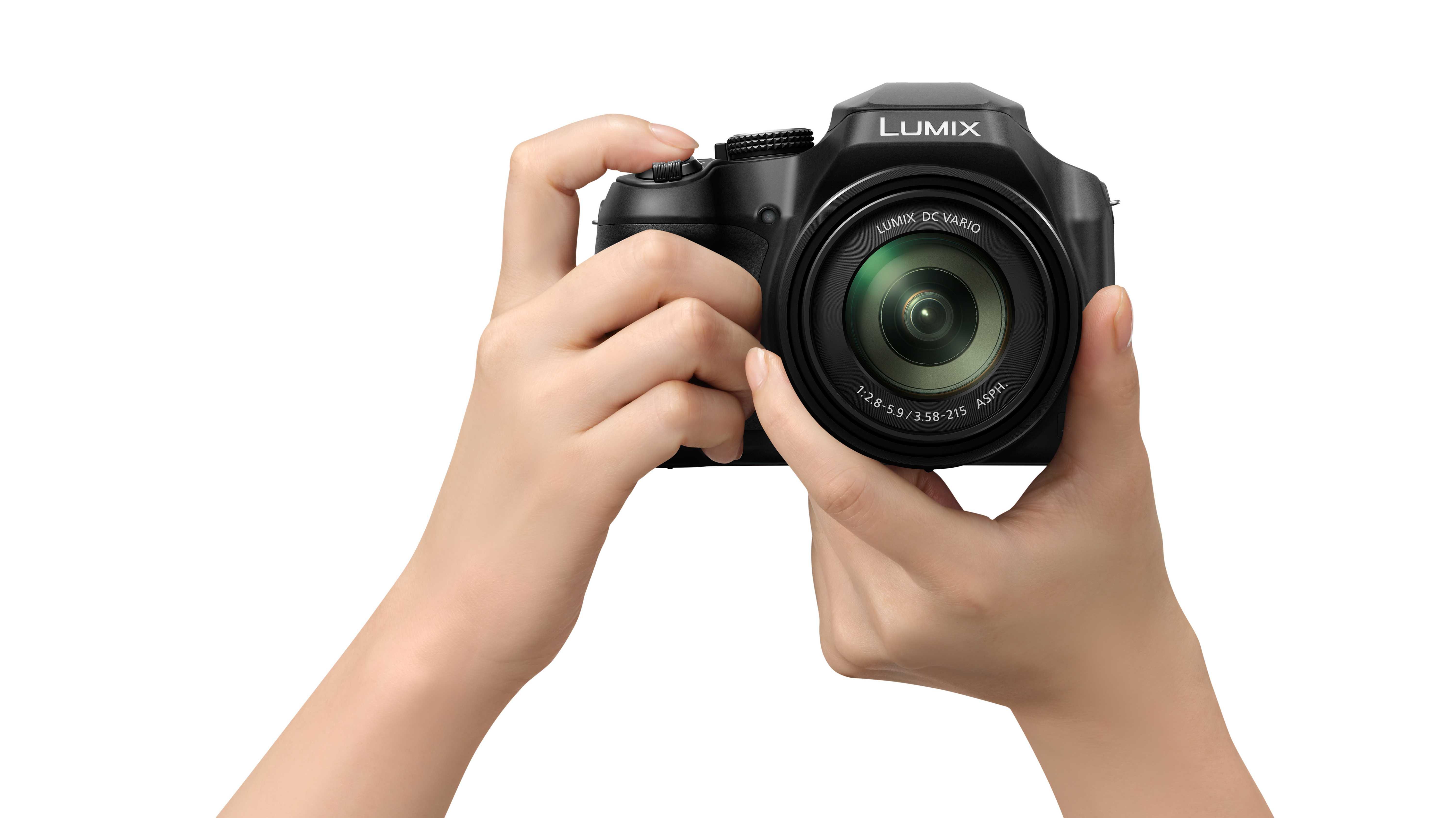 Panasonic FZ82: Bridgekamera mit 60-fach-Zoom und 4K-Video