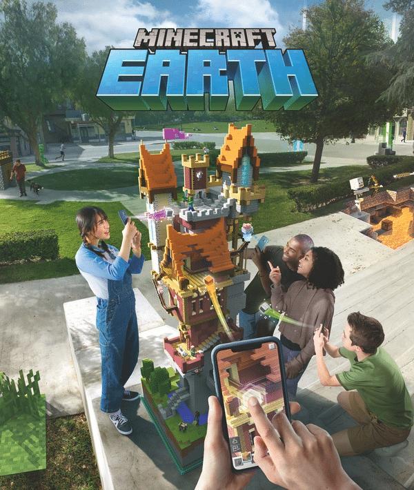 Die AR-Variante von Minecraft Earth ist ohne aktivierte Kamera nicht spielbar.