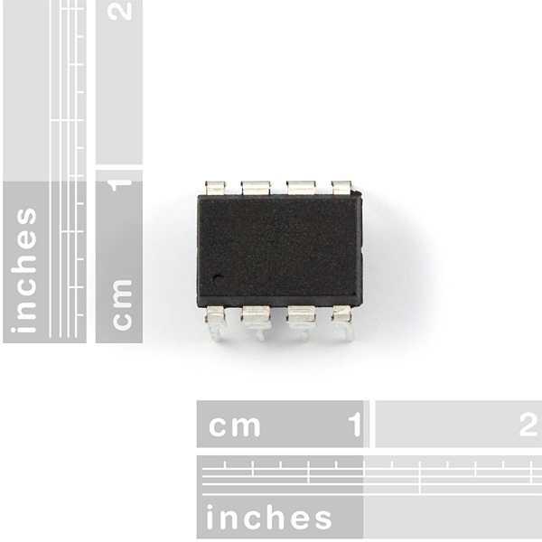 Der ATtiny85 wird relativ häufig von Arduino-Makern eingesetzt