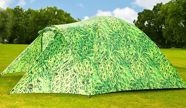 Ein Zelt mit eigener ökologischer Stromversorgung: Bang Bang Tents will's möglich machen