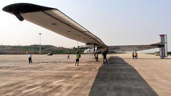 Trotz starken Gegenwinds: Solar Impulse 2 landet sicher in China