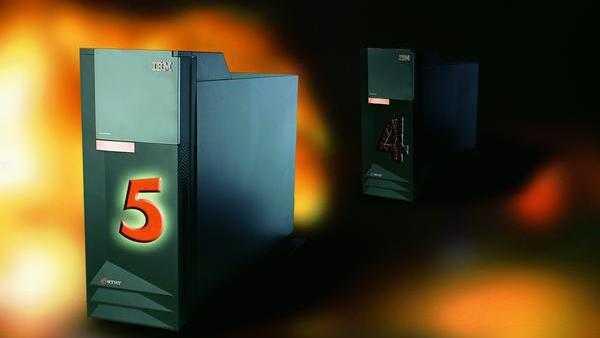 zwei IBM-Server