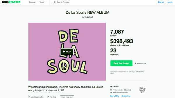 Crowdfunding: Copyright häufigster Beschwerdegrund bei Kickstarter