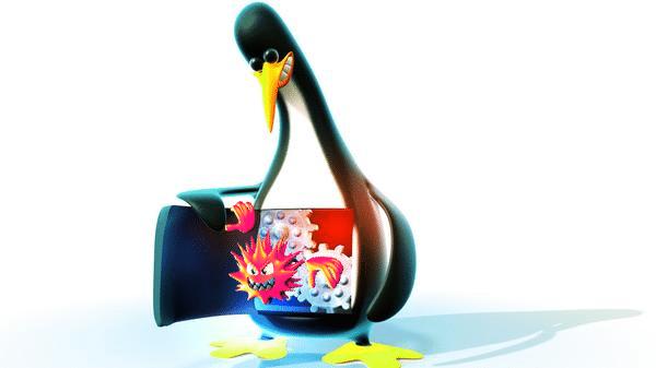 Kostenloser Virenschutz für Linux
