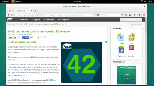 OpenSuse Leap 42.1