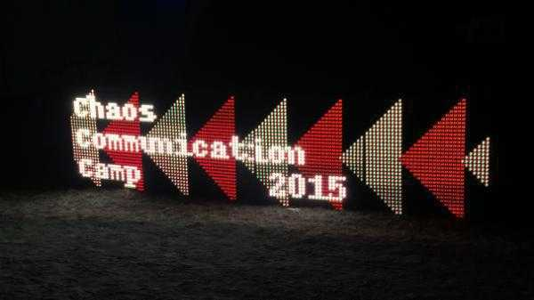 Chaos Communication Camp 2015