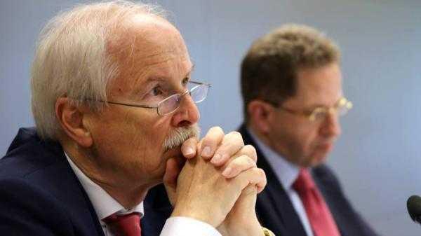 Harald Range und Hans-Georg Maaßen