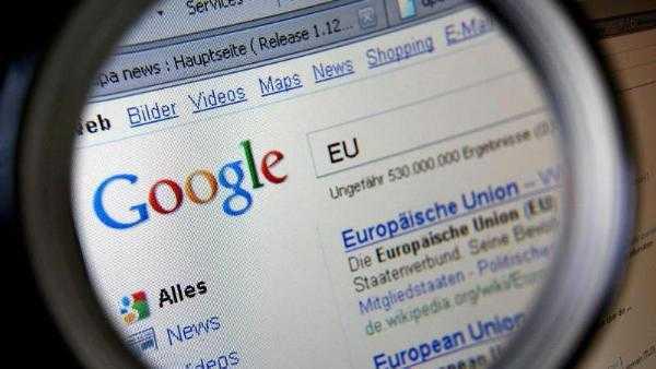 Google-Suche: EU