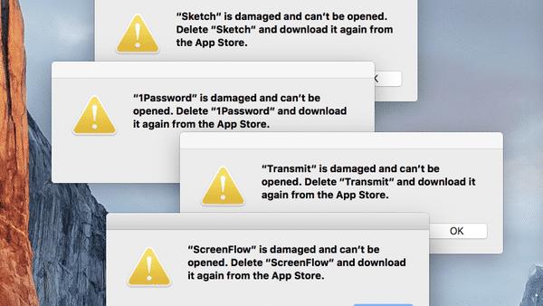 Mac App Store Probleme