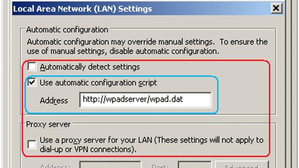 WPAD: Sicherheitslücke Proxy-Autokonfiguration