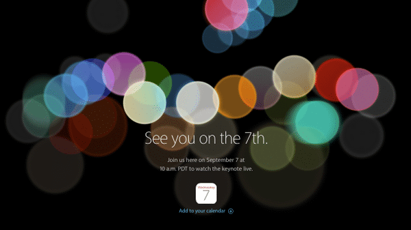 """iPhone 7"", ""Apple Watch 2"" und mehr: Liveticker vom Apple-Event ab 19 Uhr"