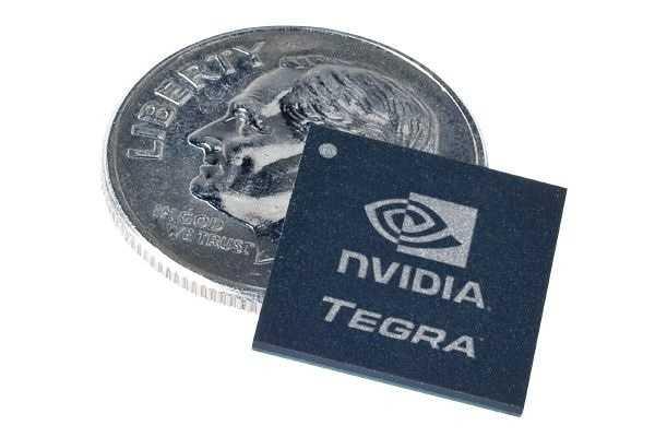 Das System-on-a-Chip Nvidia Tegra arbeitet auch mit Googles Android-System zusammen.