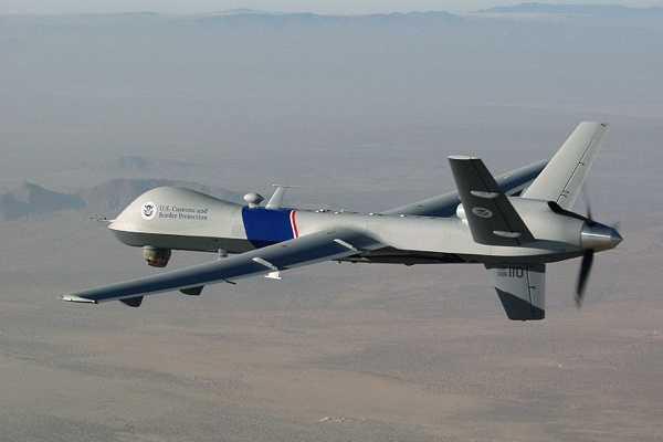 Eine Reaper-Drohne der US-Regierung.