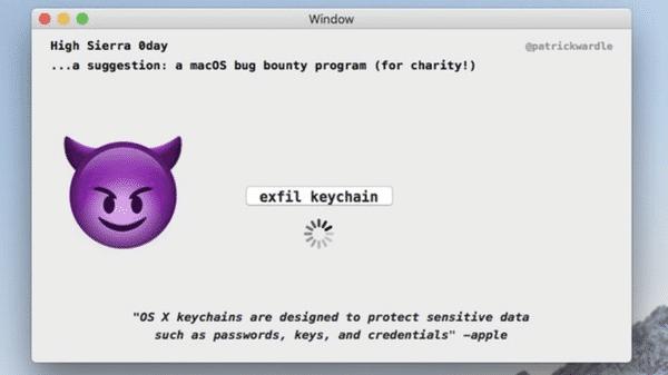 Schlüsselbund-Passwörter-Klau auf dem Mac: Sierra und El Capitan bleiben anfällig
