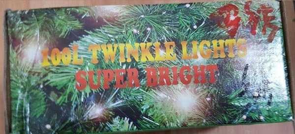 TWINKLE LIGHTS SUPER BRIGHT