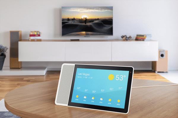 Wetterinformationen sind eine der visuellen Möglichkeiten des Google Assistenten