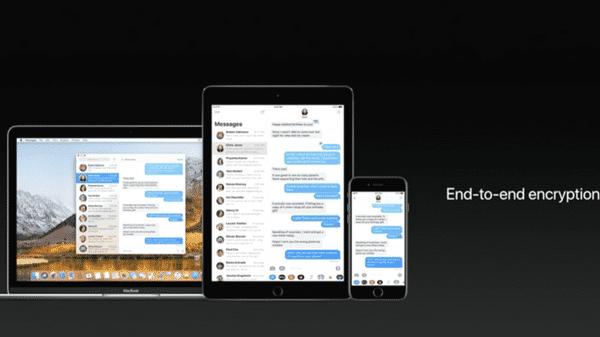 Auch Nachrichten in iCloud setzt laut Apple auf Ende-zu-Ende-Verschlüsselung.