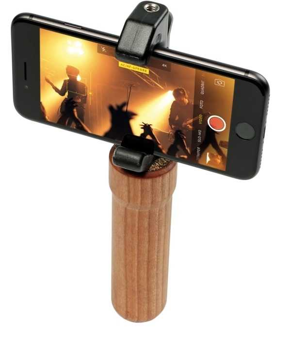 Weniger wacklige iPhone-Videos und zusätzliche Befestigungsmöglichkeiten für Zubehör bietet das Glif Full Set.