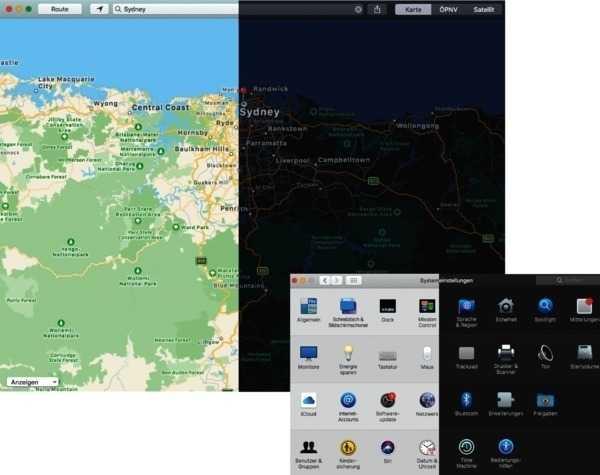 Dark Mode: Die Apple-Apps im Dunkelmodus sehen nicht nur schick aus. Längeres Arbeiten im dunklen Design strengt zudem die Augen weniger an.