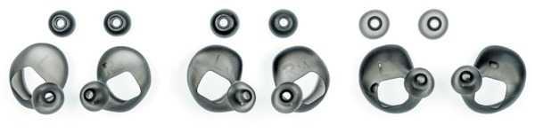 Ohrpassstücke sorgen für sicheren Halt im Ohr und dichten den Gehörgang ab.