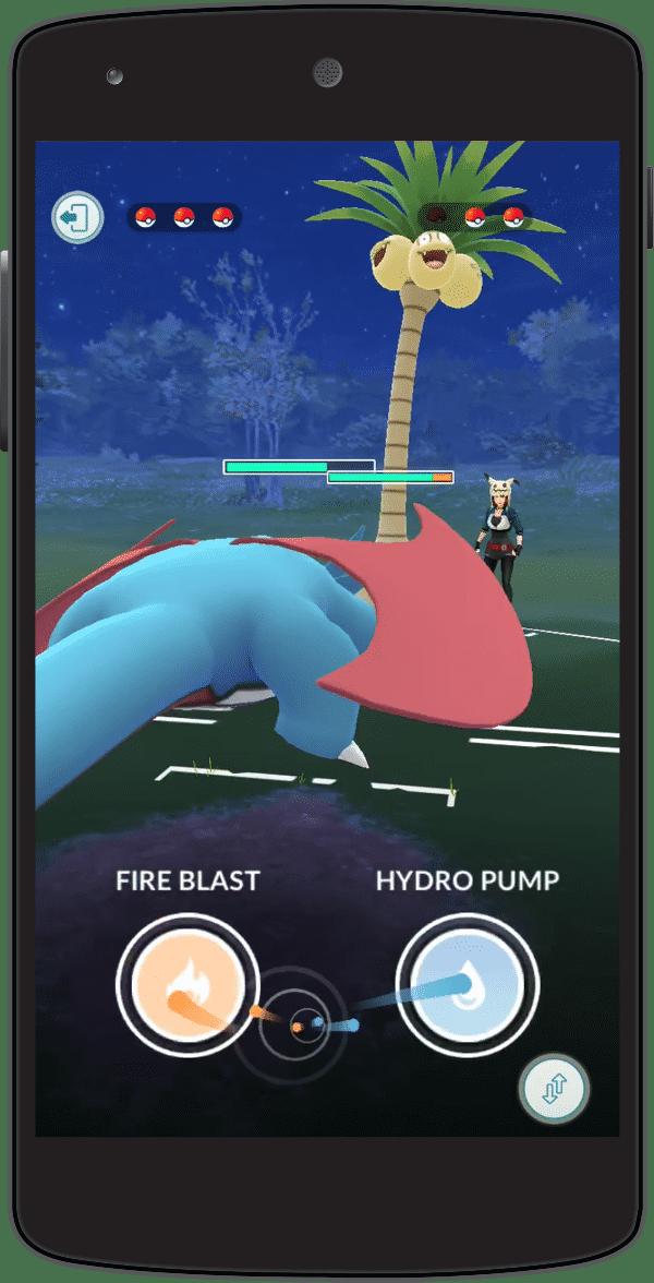 Im PvP-Kampfsystem stehen Pokémon zwei Lade-Attacken zur Verfügung.