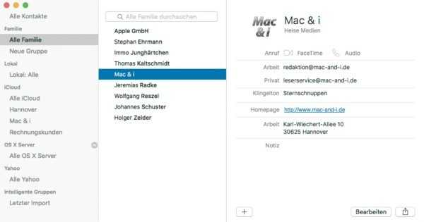 mac adressbuch mit icloud synchronisieren