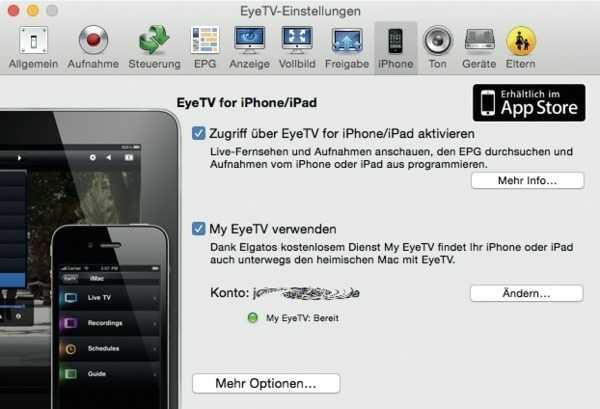 EyeTV-Tuner auf Mac vom iPhone fernsteuern | Mac & i