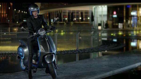 E-Roller: Piaggio schickt elektrifizierte Vespa in Serie