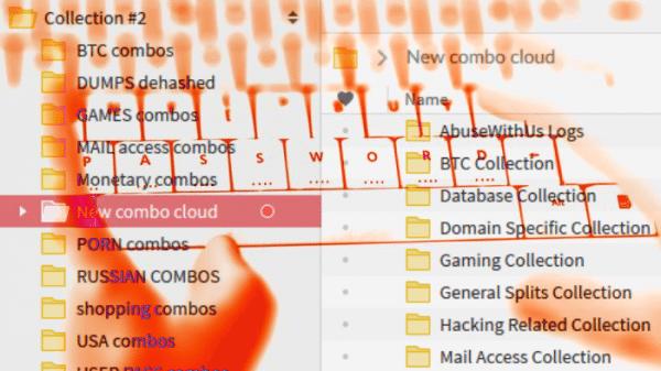 Passwort-Leaks: Collection 2-5