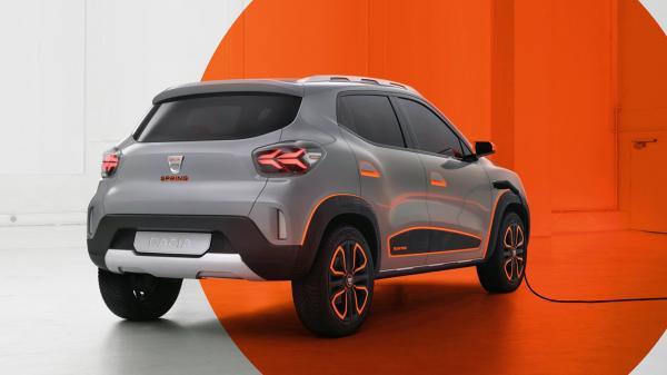 Studie Dacia Spring Electric