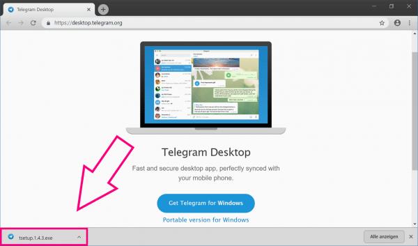 Telegram Desktop So Nutzen Sie Den Messenger Am Pc