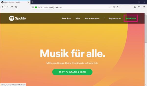 Angeben spotify falsche adresse Spotify will