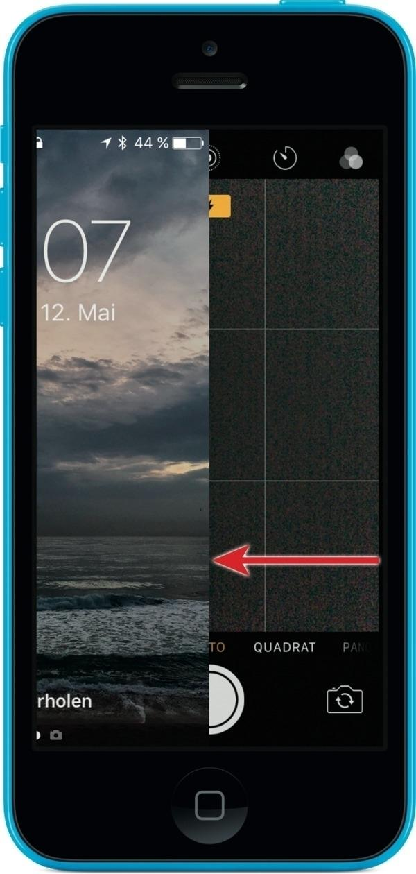 iPhone Foto Sperrbildschirm