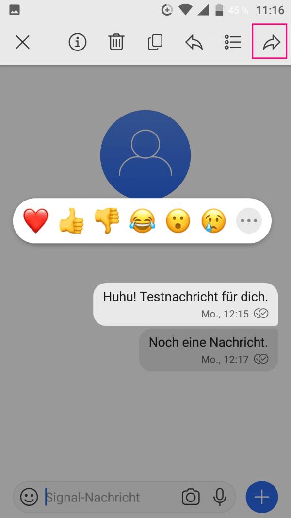 Tricks nachricht whatsapp leere WhatsApp leere