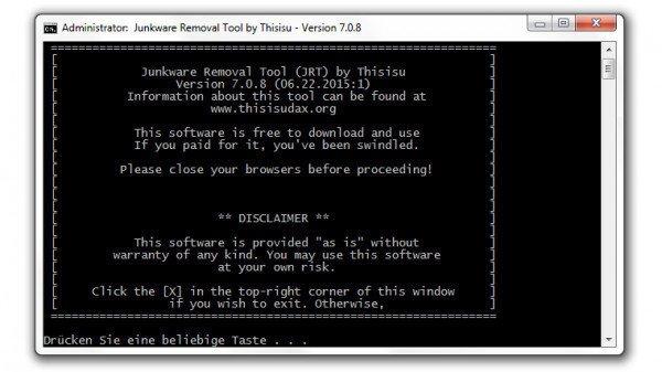 Malwarebytes stellt Adware-Killer Junkware Removal Tool ein