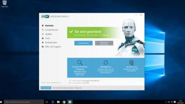 Windows10 Version 1511 Kickt Virenschutz Von Eset Heise