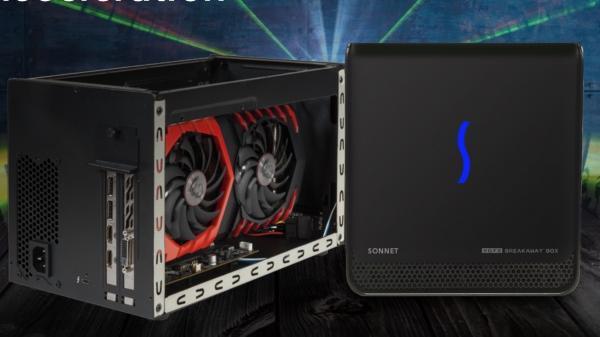 EGFX Breakaway Box bringt PCIe-Grafikkarten per Thunderbolt 3 an den Mac