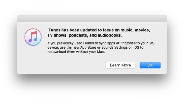 ITunes 12.6.3: Letzte Version mit App Store