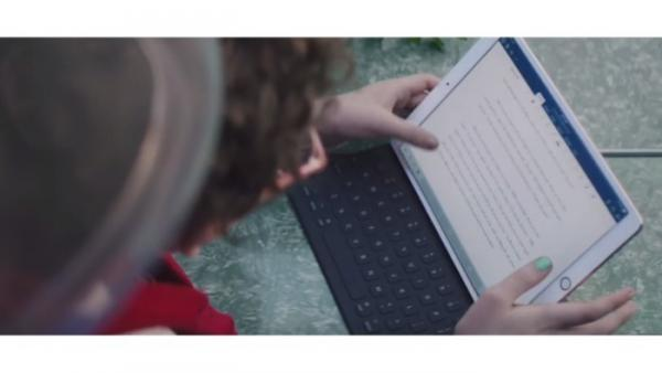 IPad Pro & iOS 11: Apple mit neuem Werbespot für Tablet