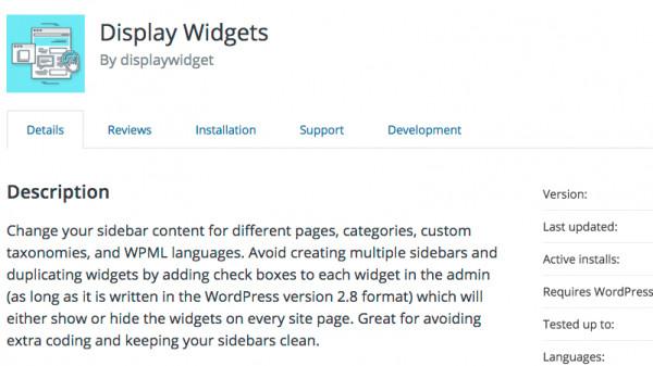 """Image result for """"Display Widgets"""": WordPress-Plugin mit Backdoor aus Repository entfernt"""