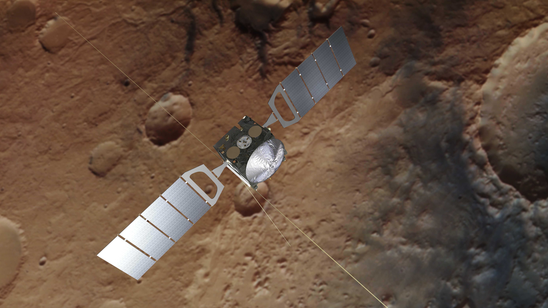 Überraschung auf dem Mars: Forscher finden unterirdischen See
