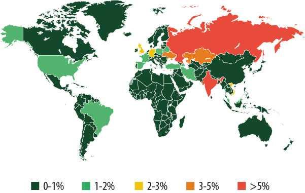 Angriffe weltweit
