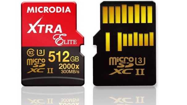 Computex: MicroSD-Karte mit 512 GByte
