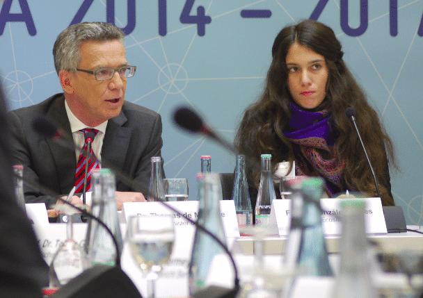 Fátima Gonzáles-Torres von der ökologischen Suchmaschine ecosia erzählte, wie Suchmaschinen, die ihrerseits Google nutzen, vom EuGH-Urteil betroffen sind.